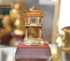 Khuê Văn Các bằng đồng mạ vàng 24k cao cấp