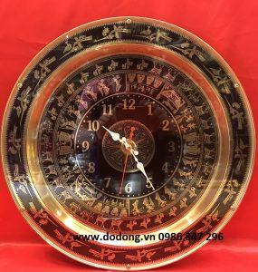 Mặt trống đồng hồ treo tường để xem giờ dk 40,50,60cm