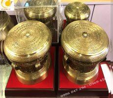 Trống đồng thu nhỏ- quà lưu niệm đặc trưng Hà Nội