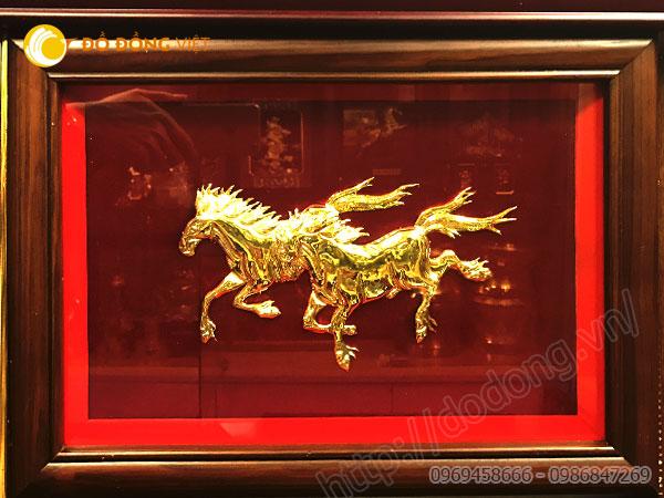 cửa hàng kinh doanh buôn bán treo tranh đồng mạ vàng 24k đẹp và sang trọng nhất