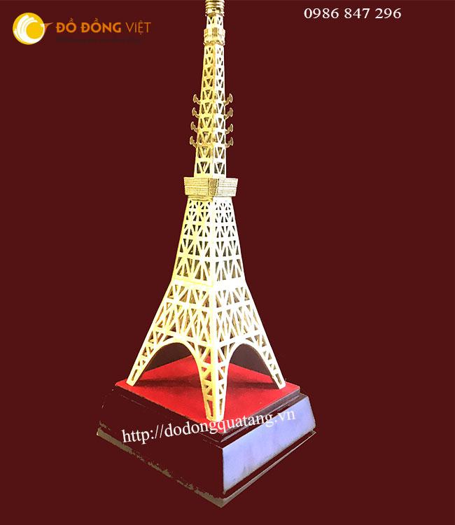 quà tặng tháp tokyo bằng đồng mô hình để bàn làm việc 32cm