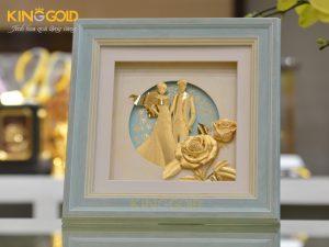 Quà mừng cưới độc đáo, ý nghĩa tại Vua quà vàng King Gold Art