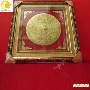 Tranh trống đồng Đông Sơn mạ vàng 24k, quà tặng sự kiện ý nghĩa