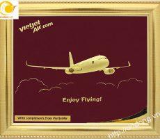 Qùa tặng tranh mô hình máy bay phù hợp ngành hàng không