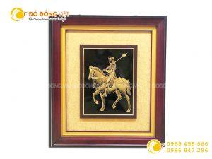 Đồ đồng Việt chế tác tranh vàng 24k theo yêu cầu