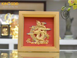 Quà để bàn làm việc hợp phong thủy – đồ đồng quà tặng mạ vàng 24k