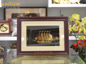 Tranh thuyền thuận buồm xuôi gió thiết kế tinh xảo-quà tặng cuối năm