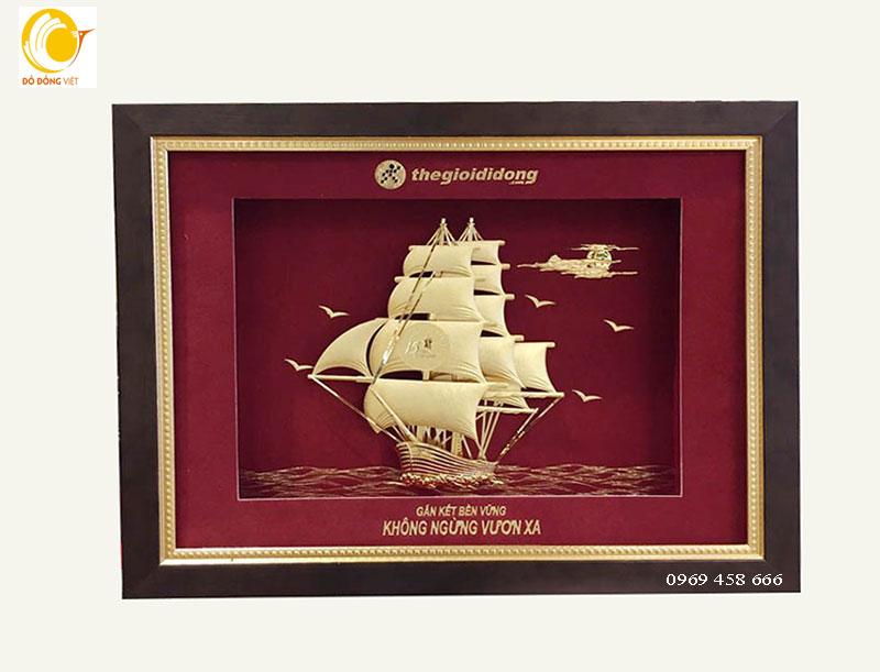 Qùa tăng doanh nghiệp thế giới di động thuyền vàng 24k0