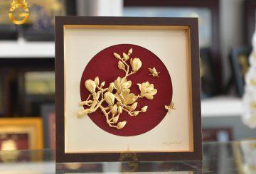 Ý nghĩa của tranh hoa mộc lan trong phong thủy