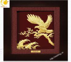 Ý nghĩa tranh vàng lá 3D Đại bàng tung cánh