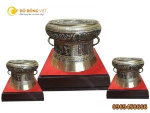 Quà tặng lưu niệm Trống đồng dành cho Doanh nghiệp