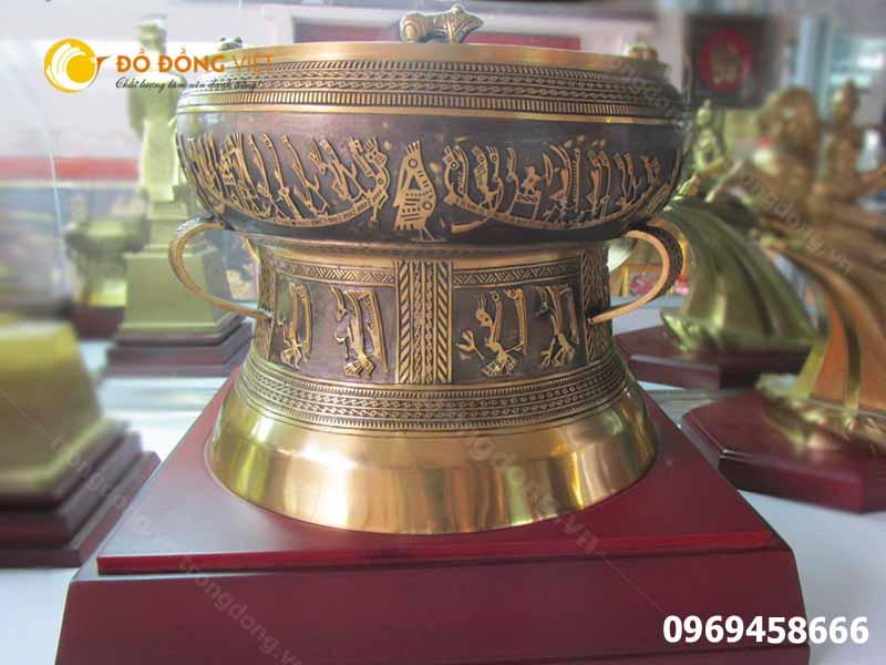 Mua trống đồng quà tặng tại Đồ đồng Việt uy tín chất lượng0