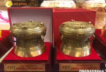 Trống đồng lưu niệm thu nhỏ, quà tặng đặc trưng Việt Nam