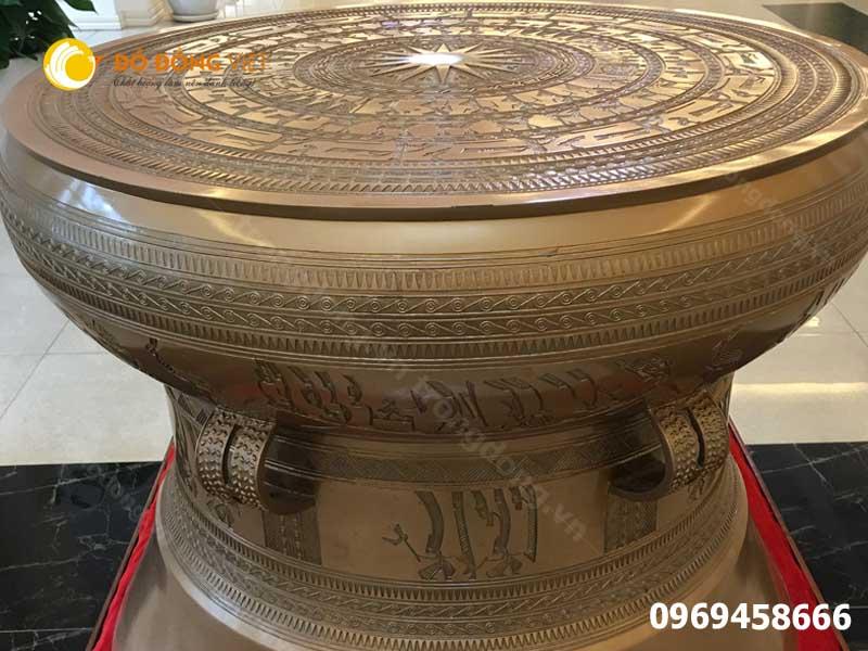 Vì sao nói trống đồng là đồ lưu niệm đặc trưng của Việt Nam
