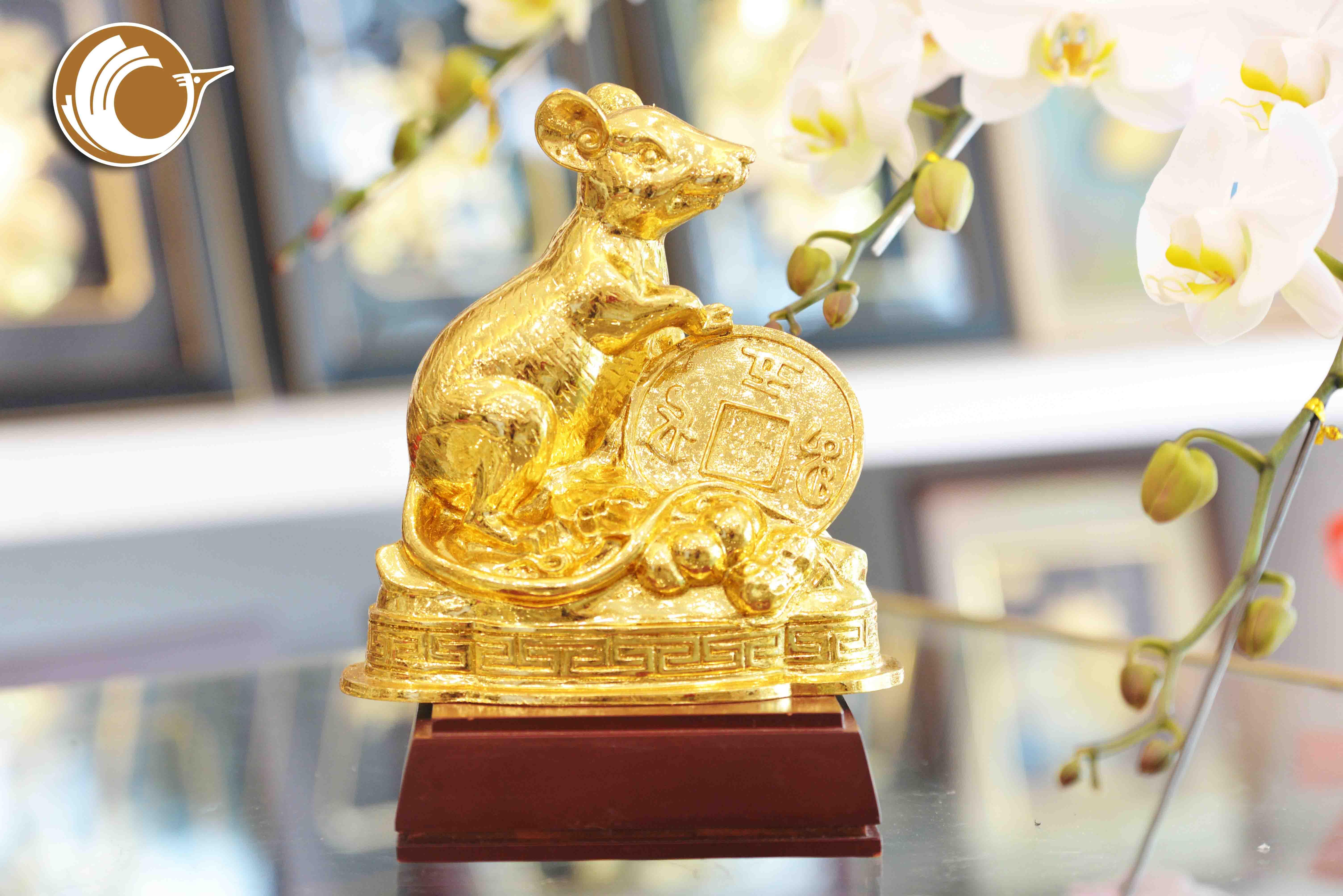 Quà tặng Tết 2020- tượng chuột phong thủy, giá bán linh vật  phong thủy0
