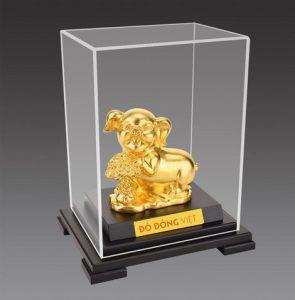 Linh quý dát vàng – 12 con giáp dát vàng 24k