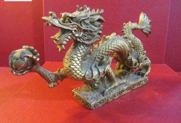 Tượng rồng bằng đồng rẻ đẹp, tượng rồng mạ vàng